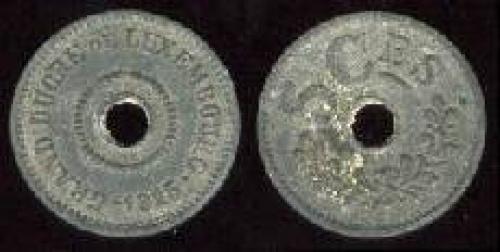 5 centimes 1915 (km 27); zinc