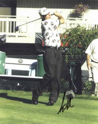 Scott Hoch autographed 8x10 photo