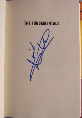 Isiah Thomas (Detroit Pistons) autographed The Fundamentals book