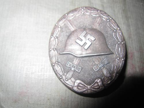 WW2 German silver wound medal