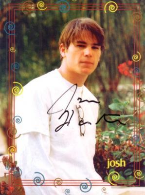 Josh Hartnett autographed 4x5 photo card