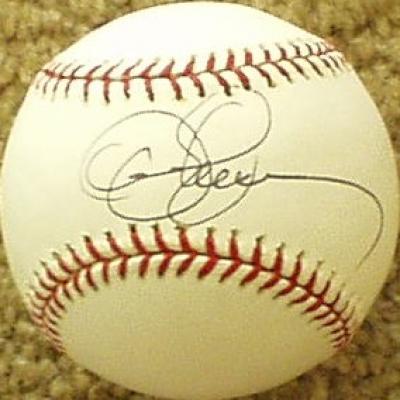 Dennis Eckersley autographed MLB baseball