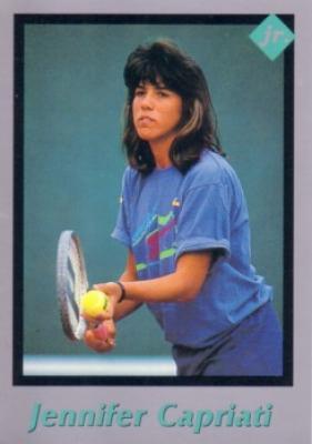 Jennifer Capriati 1991 Tuff Stuff Jr. Rookie Card