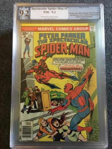 Peter Parker, The Spectacular Spider-Man #1