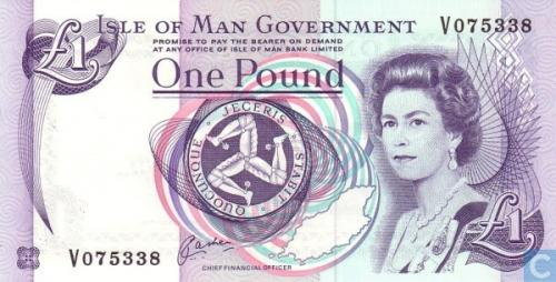 Isle Of Man 1 Pound ND(2006)