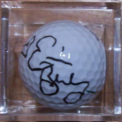 Erica Blasberg autographed golf ball