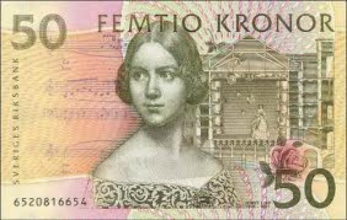 Sweden Banknote; 50kroner‑front.