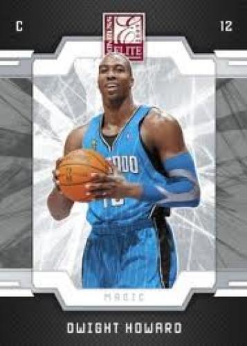 Basketball Card; Dwight Howard, Orlando Magic; 2009-10 Donruss Elite Basketball Card Preview