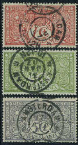Tuberculosis 3v 31jan1907 cancellation; Year: 1906
