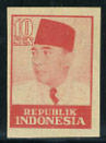 Java & Madura, Sukarno 1v imperforated; Year: 1949