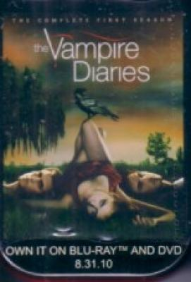 Vampire Diaries 2010 Comic-Con promo tin of cinnamon red hots candy