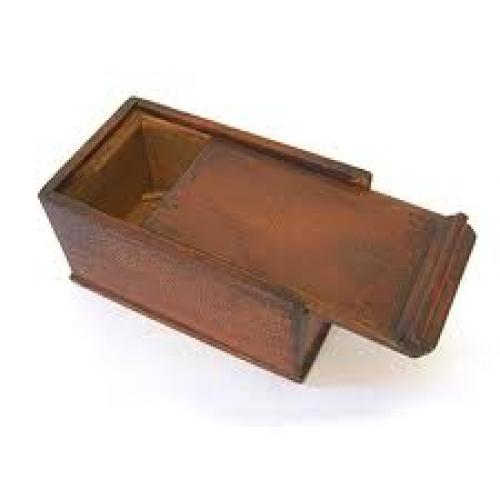 Antique Wooden Candle Box