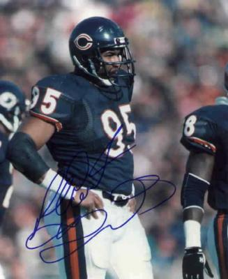 Richard Dent autographed Chicago Bears 8x10 photo