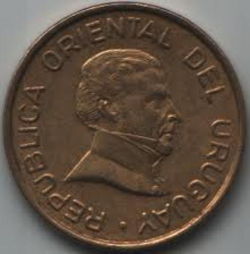 Coins; Uruguay 2 Peso 1994; Front image