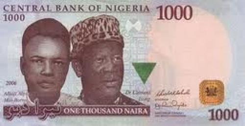 Nigerian Banknotes; 1000 Naira