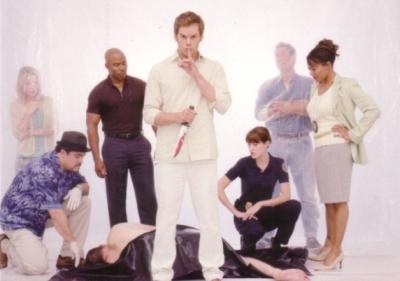 Dexter 2009 Comic-Con Breygent promo card