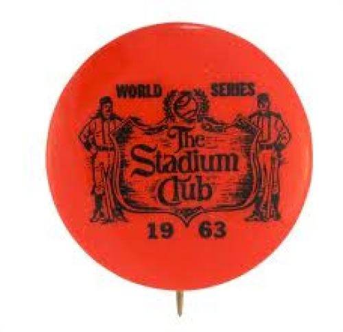 Memorabilia; World Series Stadium Club; 1963