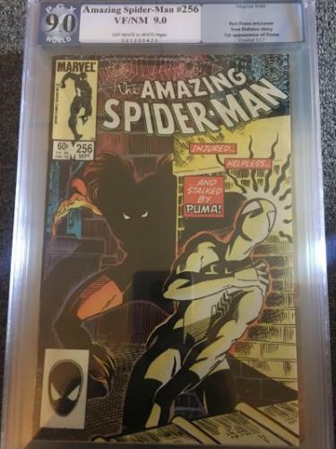 Amazing Spider-Man #256 *PGX 9.0