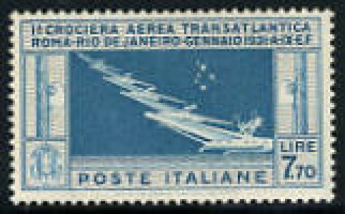 Rome/Rio flight 1v