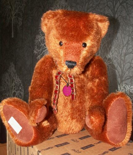 DEANS Limited Edition RUSSETT Bear