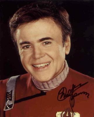 Walter Koenig autographed Star Trek 8x10 Chekov photo