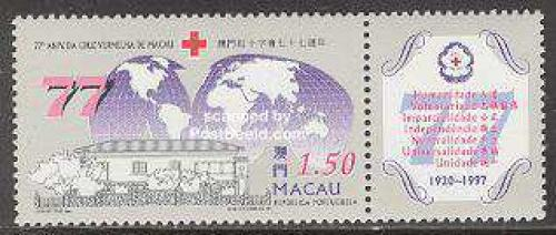 Red Cross 1v+tab; Year: 1997