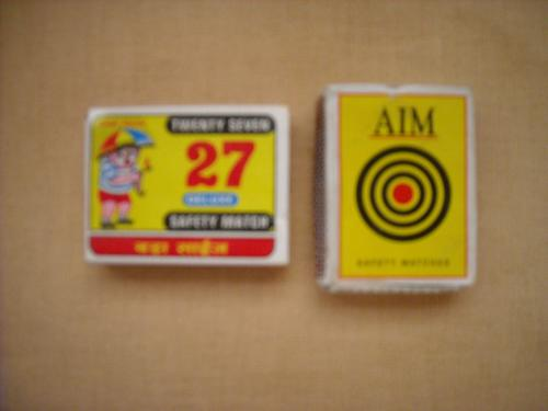  Matchboxes from India