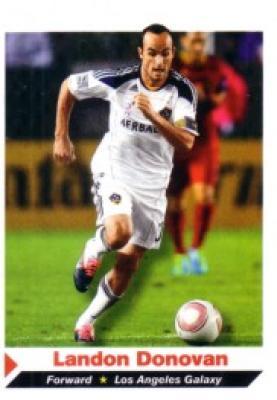 Landon Donovan MLS Los Angeles Galaxy 2011 Sports Illustrated for Kids card