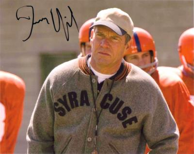 Dennis Quaid autographed 8x10 The Express photo