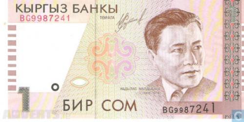 Kyrgyzstan 1 Som-1999