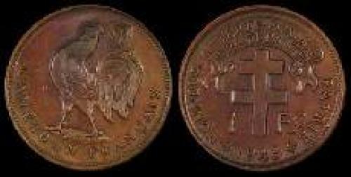 1 franc 1943 (km 5)