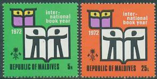 Int. year of the book 2v; Year: 1972