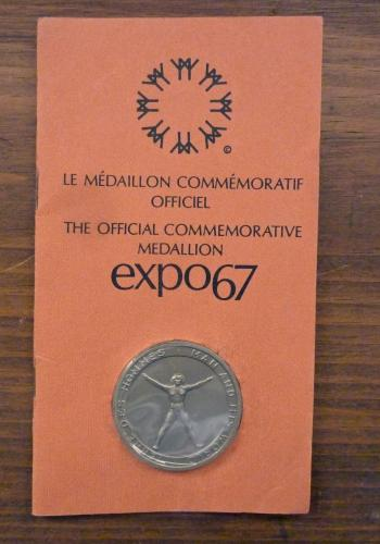 EXPO 67 Official Commemorative Medallion