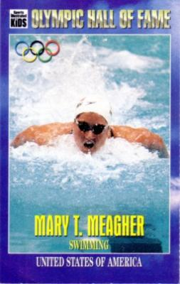 Mary Meagher Olympic Hall of Fame Sports Illustrated for Kids card