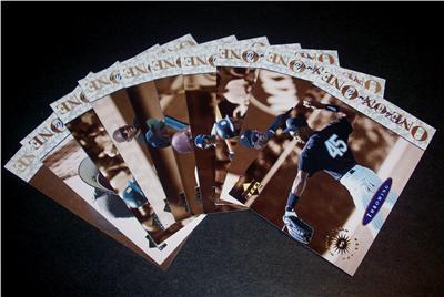 Michael Jordan 1995 Upper Deck Minors One on One 10 card insert set