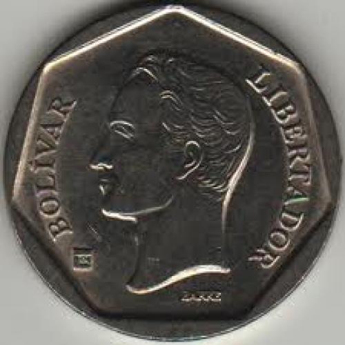 Coins; Venezuela 100 Bolivar 1999