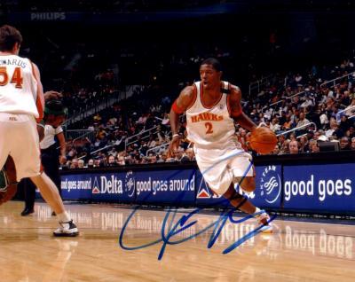 Joe Johnson autographed 8x10 Atlanta Hawks photo