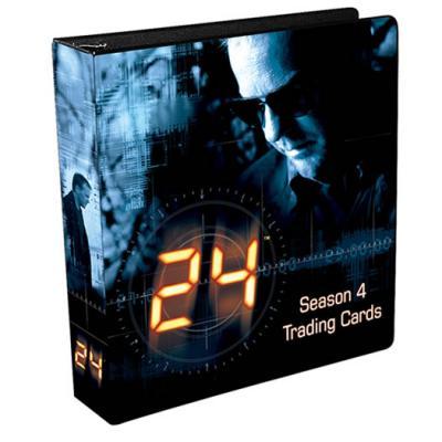 24 Season 4 trading card ArtBox album or binder