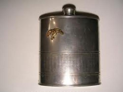 Militaria;  Polish Poland Air Force Drinking Flask