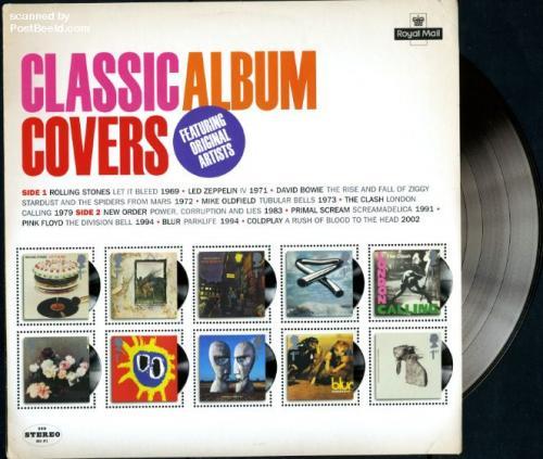 Classic Album covers 10v m/s