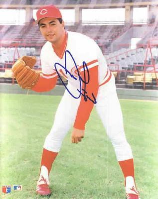 John Franco autographed 8x10 Cincinnati Reds photo