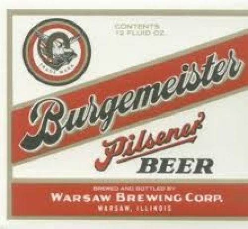 "Vintage 4 1/2"" wide beer label. Circa 1950."