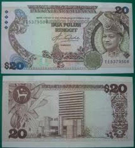 Banknotes; 20 Dua puluh Ringgit; Malaysian banknotes