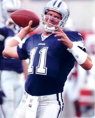 Drew Bledsoe 8x10 Cowboys photo