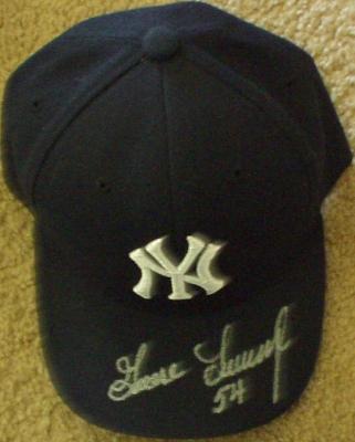 Goose Gossage autographed New York Yankees cap