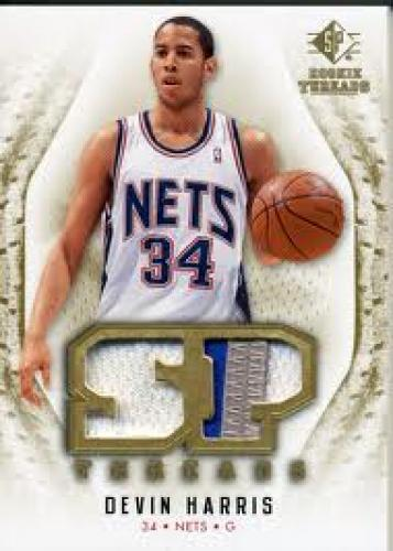Basketball Card; Devin Harris NETS; 2008-09 SP Rookie