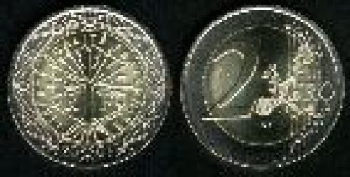 2 euros; Year: 1999-2006; (km 1289); Exterior Cuproníquel (Cu75Ni25) Interior 3 capas Niquel-Latón/N