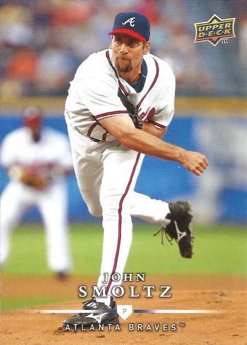 2008 Upper Deck First Edition #307 ~ John Smoltz