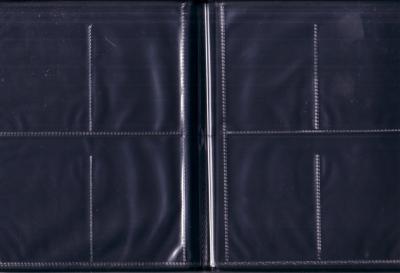Mini album for 16 trading cards