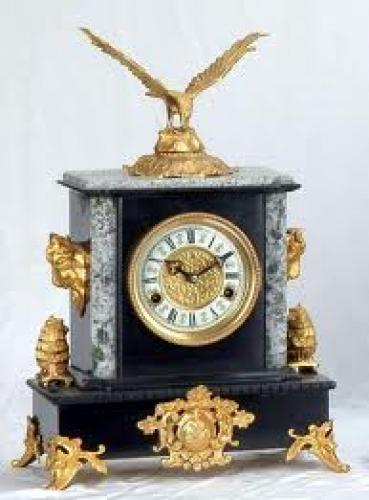 Decorative antique clock